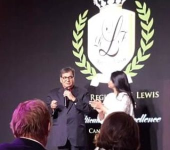 Subhash Ghai who was in Cannes to announce his first ever international film based on Osho was honored with the TITAN