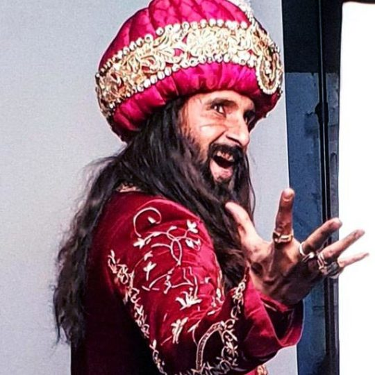 Ravi Dubey as Alauddin Khilji in Sabse Smart Kaun. Pic 3. (Image courtesy – Instagram)