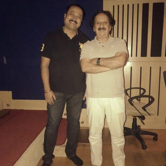 Debajit with Majid Majidi