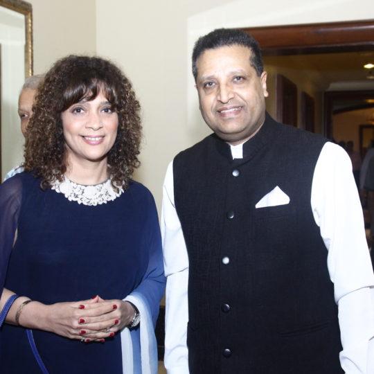 Penaz Masani & Basant Chaudhary