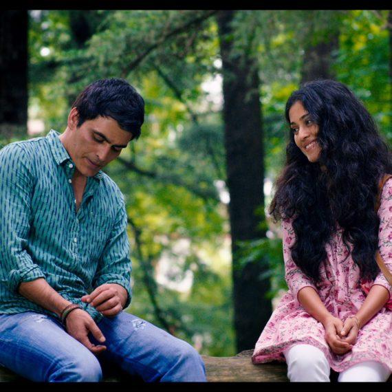 (L-R) Manav Kaul and Amrita Bagchi from Music Teacher