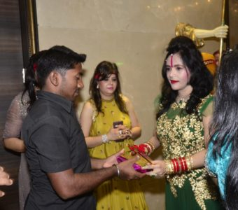 Is Radhe Maa in competition with Salman Khan?