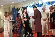 Tanvi Vyas - Harsh Nagar engagement