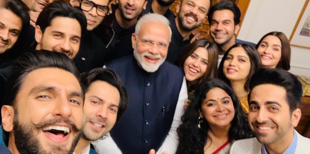PM Modi with film industry delegation