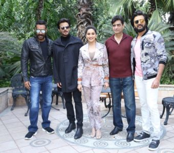 Star Cast of Total Dhamaal witnessed promoting the movie in National Captial!