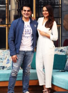 Sonakshi Sinha on the sets of Pinch