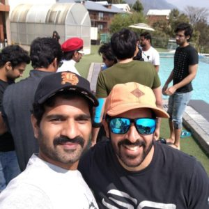 Badree with Kabir Khan
