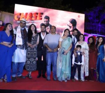 Trailer and music launch of action packed drama film Chase-No mercy to crime!