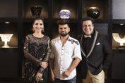 Govinda, Tina and Shivam Dua