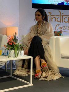 Cannes film festival - Huma Qureshi