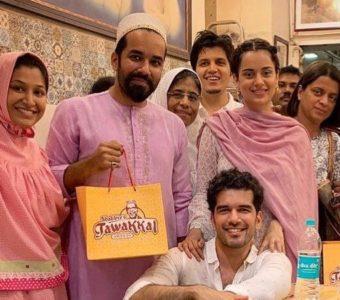 Kangana Ranaut celebrates the end of Ramzan with Manikarnika co-star Taher Shabbir!