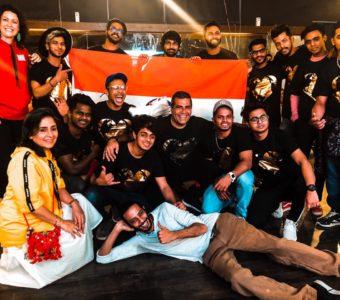 Shailendra Singh and Mithoon screen Ek Bharat, Mera Bharat / One India, My India for the dance troupe Kings United India!