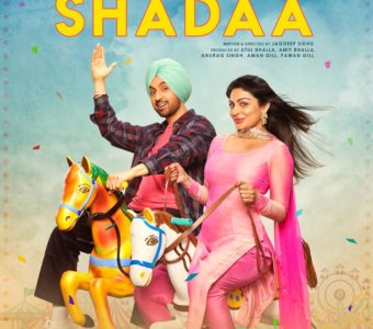 DILJIT AND NEERU BOTH RIDING HORSES ON POSTER #2 OF SHADAA!