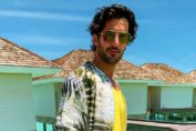 Aditya Seal in Maldives on vacation