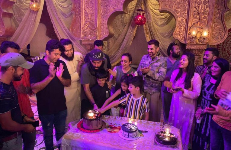 Feroz Khan celebrates his birthday