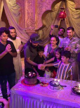 Feroz Khan celebrates his birthday 7