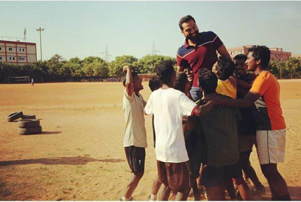 The real-life story of a football coach Rudraksh Jena