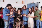 Marathi film 'Medium Spicy' Sai's Birthday