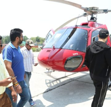 Sidharth Malhotra at Auli (2)