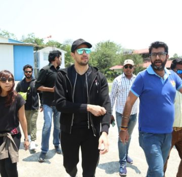 Sidharth Malhotra at Auli1 (2)