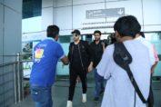 Siddharth Malhotra at Dehradun Airport