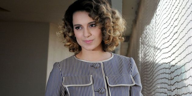 Kangana Ranaut talking about her absence on social media