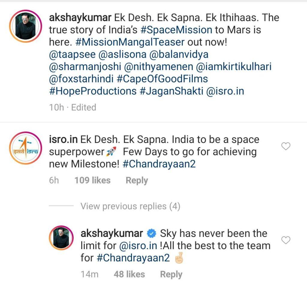 Akshay-Kumar tweet Mission Mangal teaser