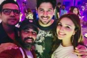 Sanjeev K Jha with Jabariya Jodi Cast- Sidharth Malhotra and Parineeti Chopra