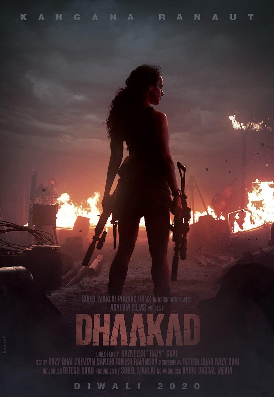 Kangana Ranaut upcoming film Dhaakad