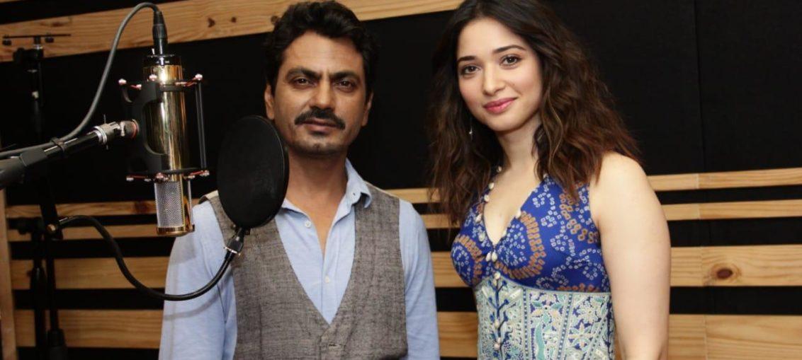 Nawazuddin and Tamannaah rap song