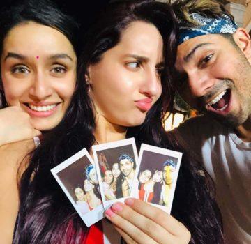 Norah fatehi, Varun & Shraddha