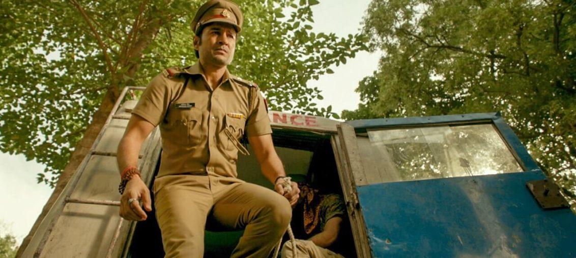 Rajeev Khandelwal's look as a cop from film Pranaam