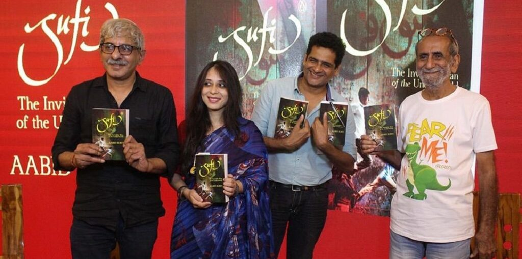 Author Aabid Surti's latest book Sufi launched by Director Sriram Raghavan