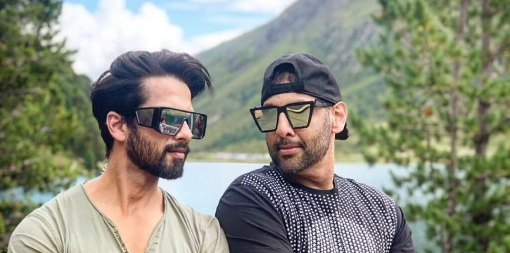Hotelier Suved Lohia Shahid Kapoor and Kunal Khemu in Italy