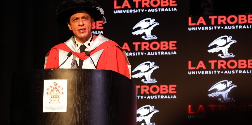 Shah Rukh Khan Scholarship at La Trobe University