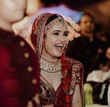 Yuvika Chaudhary wedding