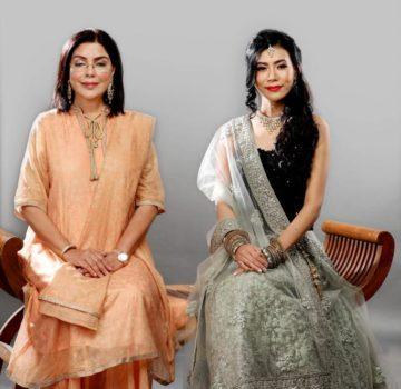 Zeenat Aman & Imlibenla wati
