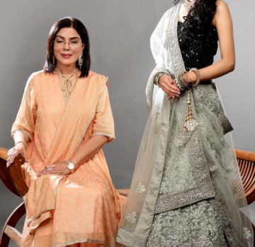 Zeenat Aman and Imlibenla wati