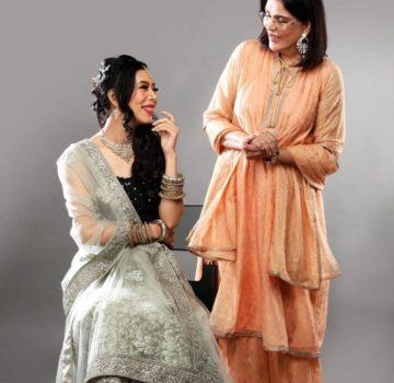 Zeenat Aman with Imlibenla wati