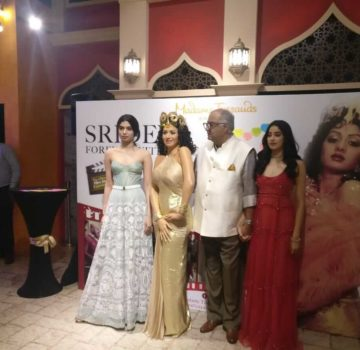 Boney Kapoor along with daughters to unveil Sridevi's statue