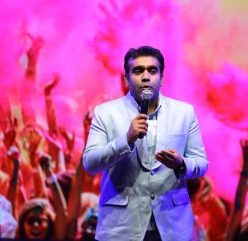 Darshan Sankhala performing
