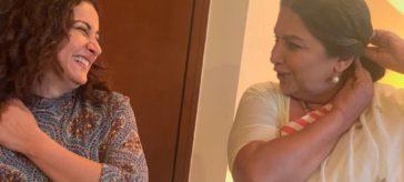 Divya Dutta at Shabana Azmi's Birthday