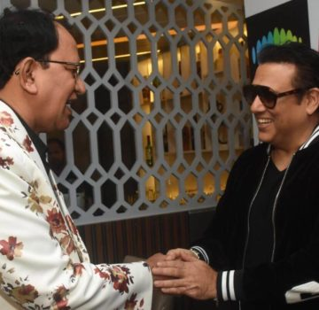 Govinda Promoting song Milo Na Tum