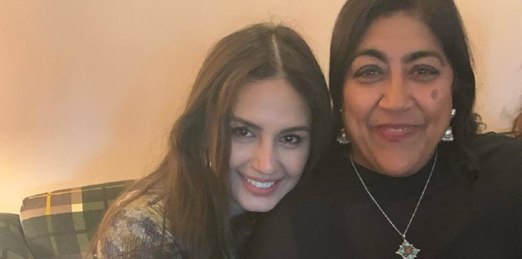 Huma Qureshi & Gurinder Chadha catch up in LA
