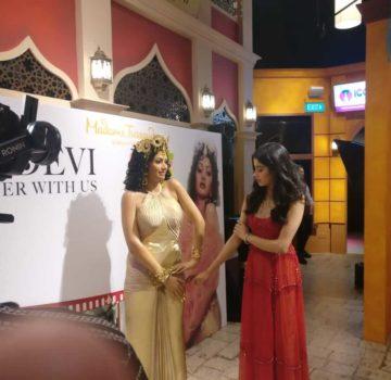 Janhvi Kapoor at Madame Tussauds Singapore