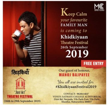 Khidkiyaan – Just Act event