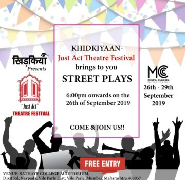 Khidkiyaan- just Act theatre festival (1)