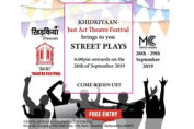 Khidkiyaan just Act theatre festival