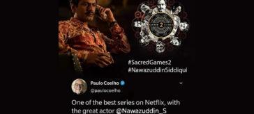 Paulo Coelho praises Nawazuddin Siddiqui on Twitter