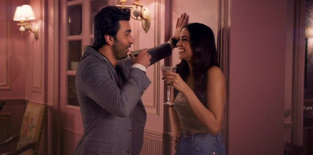 Ranbir Kapoor and Deepika Padukone in Asian Paints RHS TVC 2